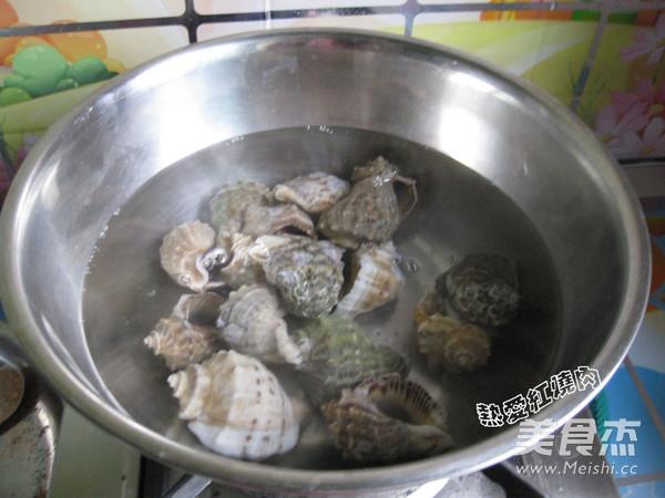 凉拌海螺肉的做法图解