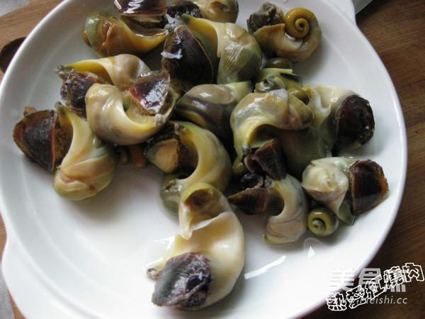凉拌海螺肉的家常做法