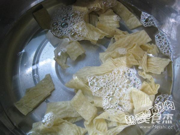 黄瓜柿子椒炒油豆皮的做法大全
