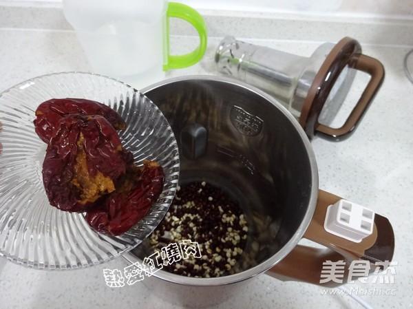 红豆薏米豆浆的家常做法