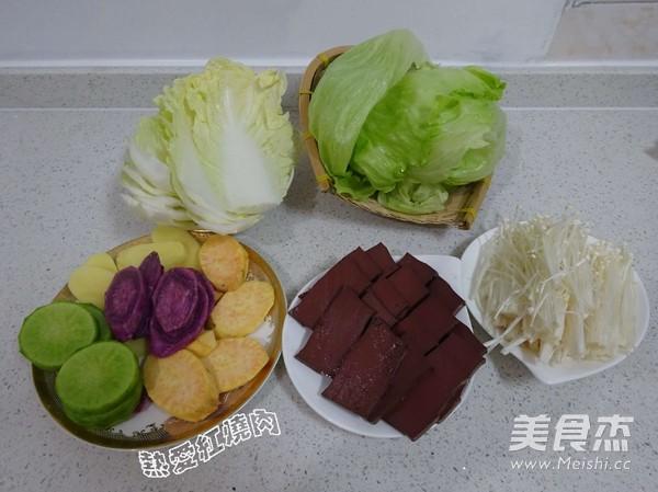 浓汤宝菌菇火锅的简单做法
