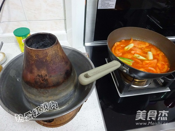 浓汤番茄铜火锅怎样煸
