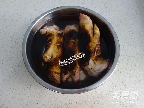 花生炖猪蹄的简单做法