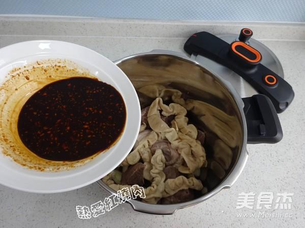 老北京卤煮火烧怎样煸
