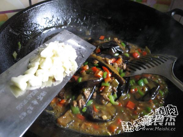 肉丁烧茄条怎样煮