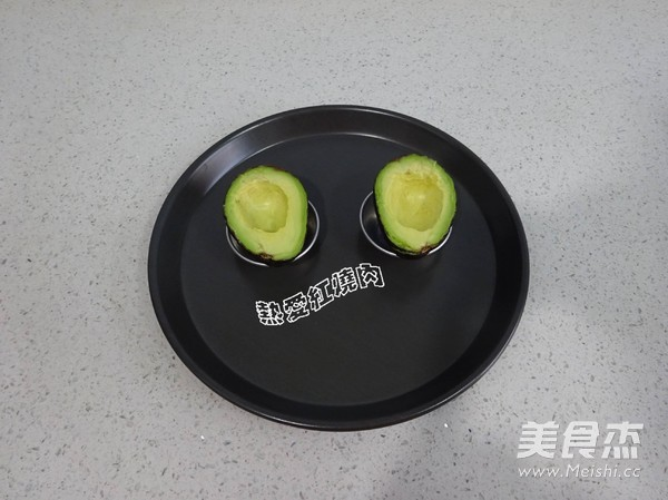 ——牛油果烤蛋的简单做法
