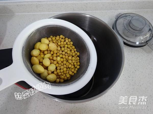 白果豆浆的简单做法