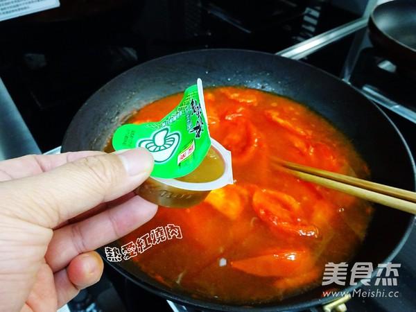 番茄浓汤火锅怎么炒