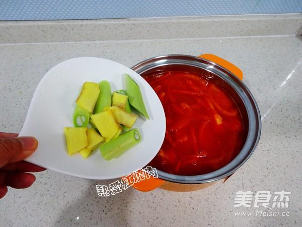 番茄浓汤火锅怎么煮