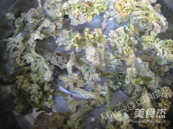 干锅干菜花的做法图解