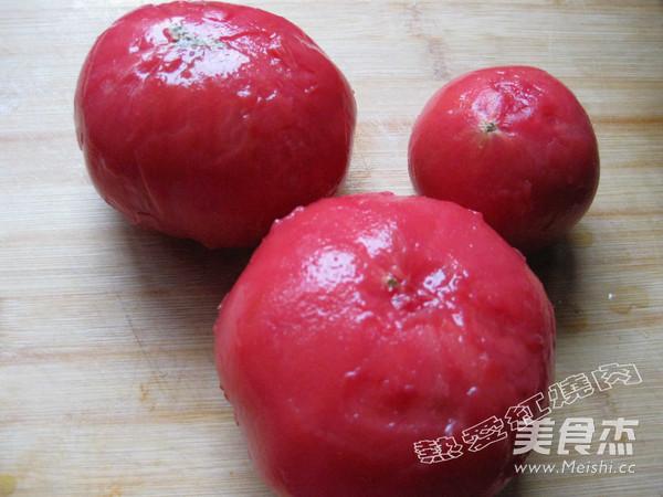 鸡蛋炒西红柿的家常做法