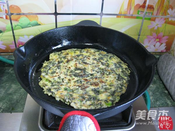 紫菜鸡蛋饼怎样炒