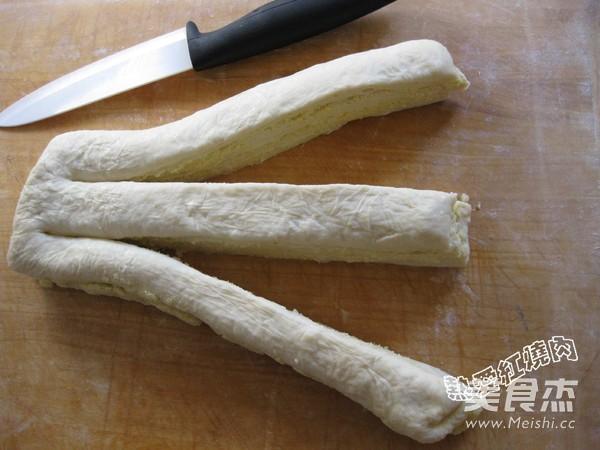 面包机版椰蓉面包的制作