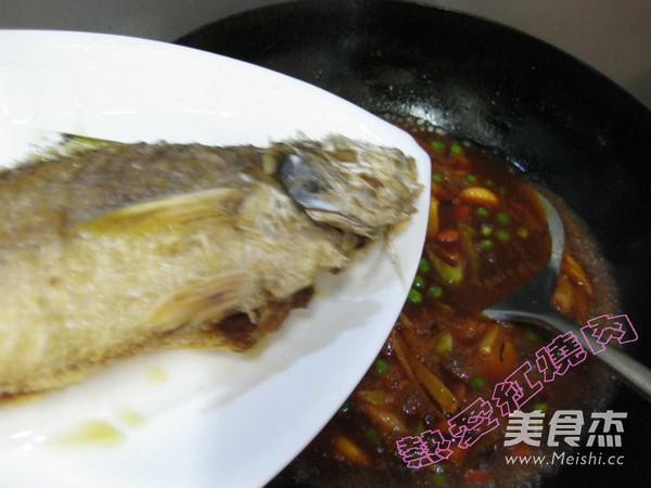 茄汁黄鱼的制作大全