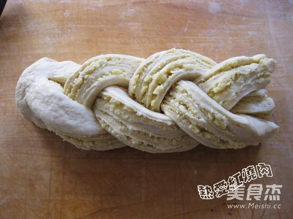 面包机版椰蓉面包的制作方法