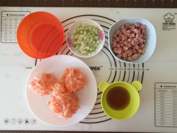 火腿萝卜丝饼怎么做