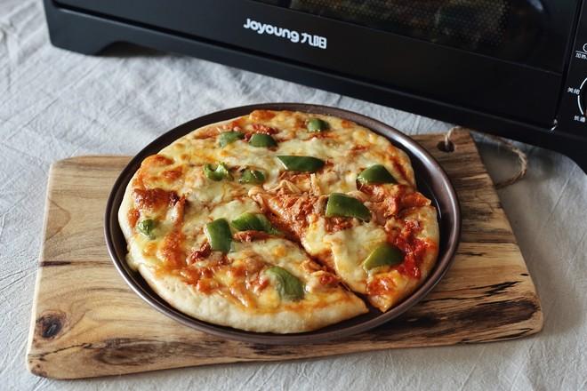 茄汁金枪鱼披萨怎样炒