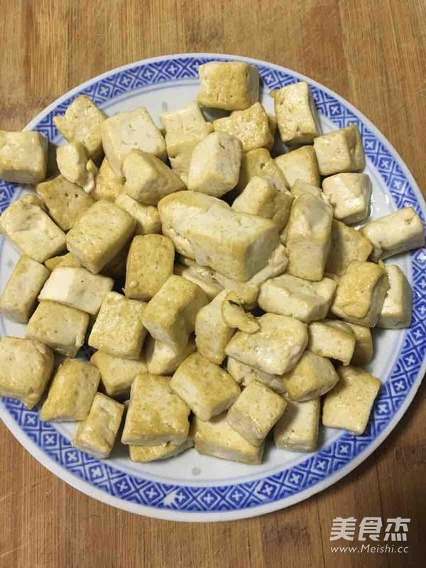 大葱炒豆腐的简单做法