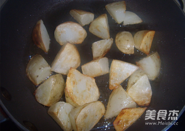 锅巴土豆的家常做法