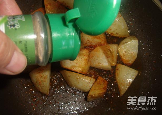 锅巴土豆的简单做法