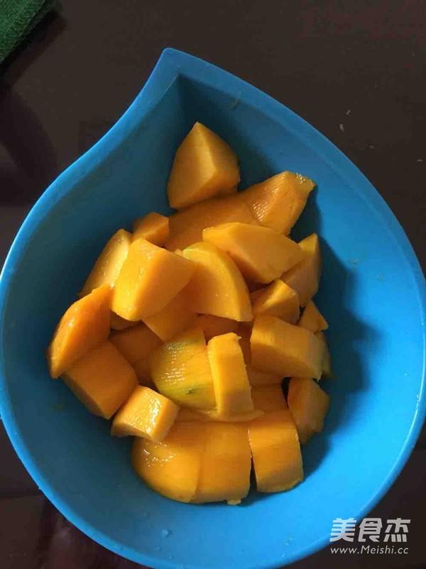 椰汁芒果西米露怎么做