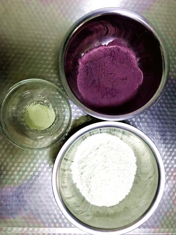 紫薯玫瑰花馒头的做法大全