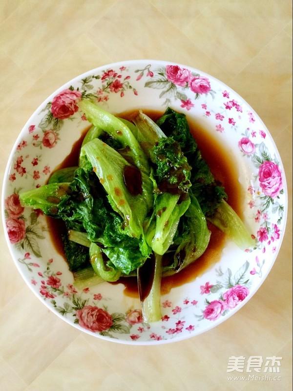 白灼生菜怎么炒