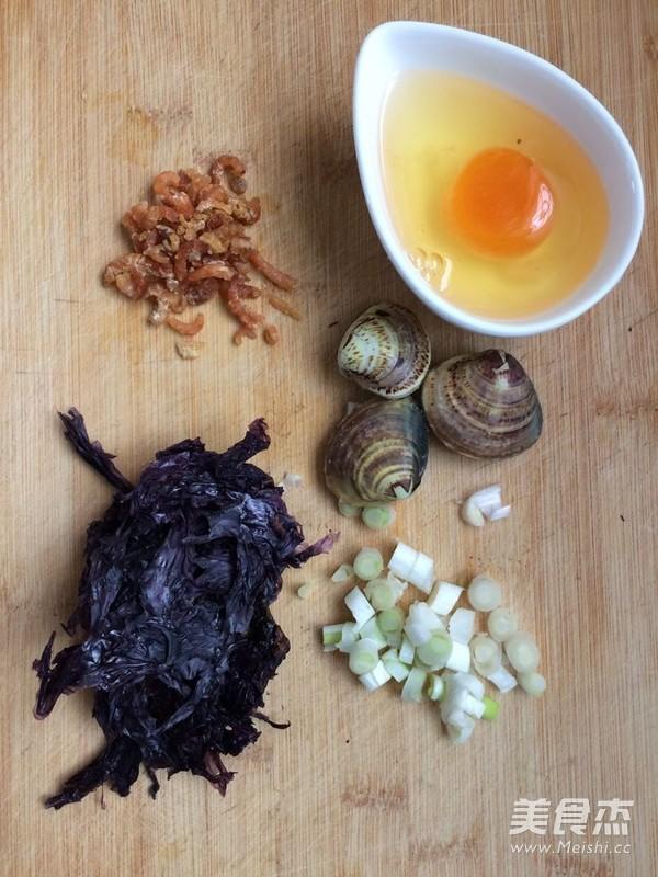 蛤蜊紫菜蛋花汤的做法大全