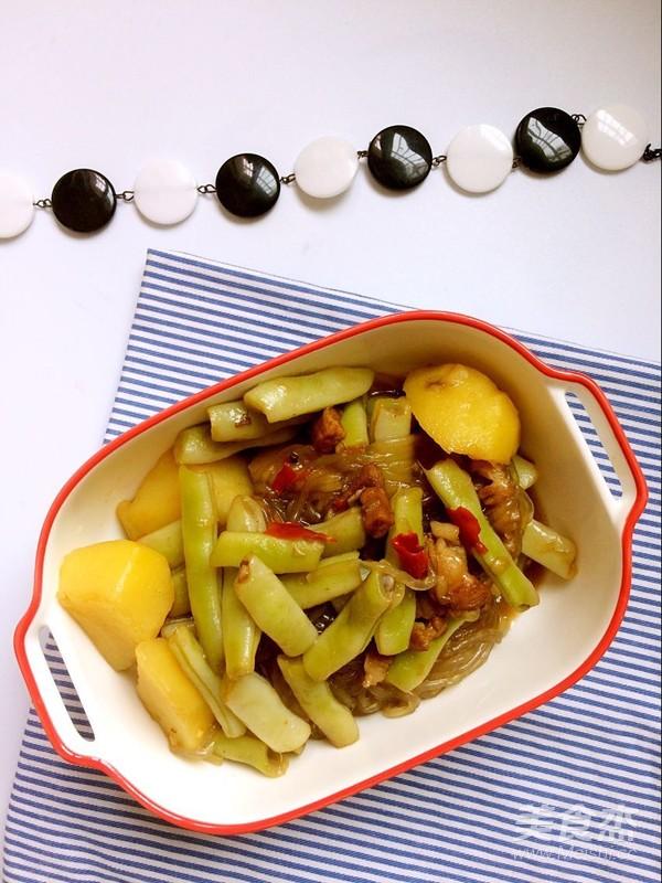 猪肉土豆炖芸豆怎样炒