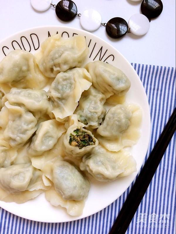 海蓬菜水饺的制作方法