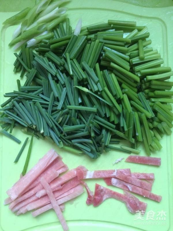 家常肉炒韭菜苔的做法大全