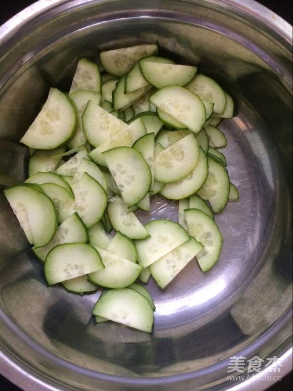 腐竹拌黄瓜怎么炒