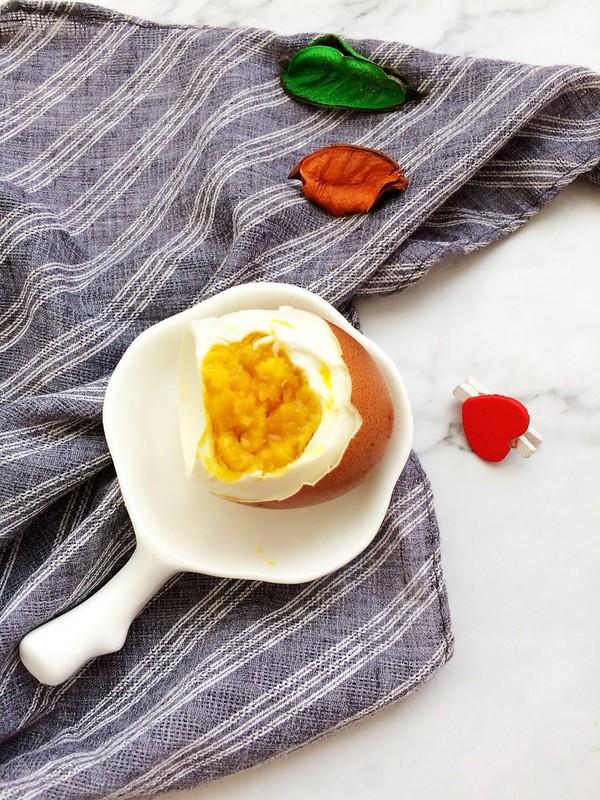 腌咸鸡蛋成品图