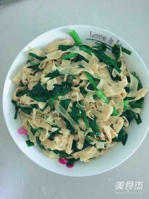 韭菜炒千张怎么煮