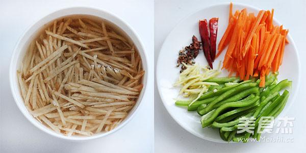 小咸菜—炒腊菜疙瘩丝的做法大全