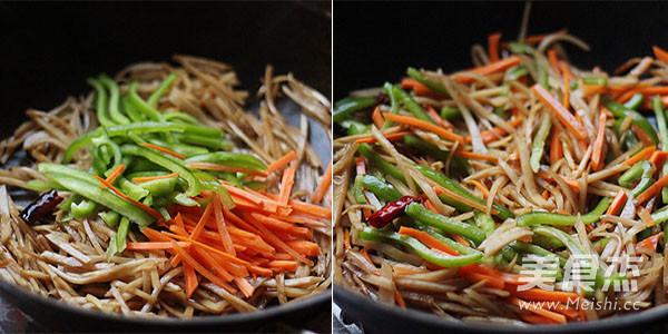 小咸菜—炒腊菜疙瘩丝的家常做法