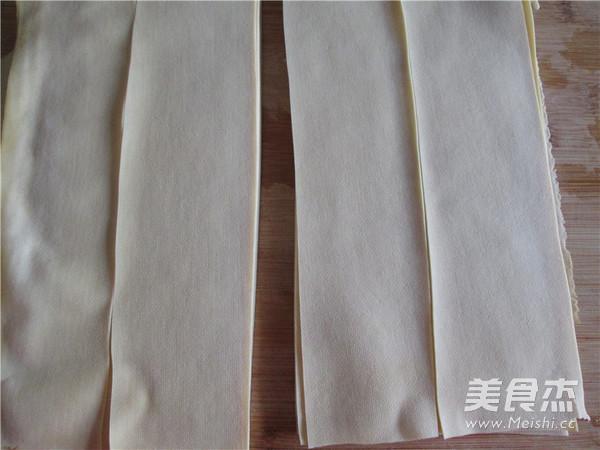 大葱炝干豆腐丝的家常做法