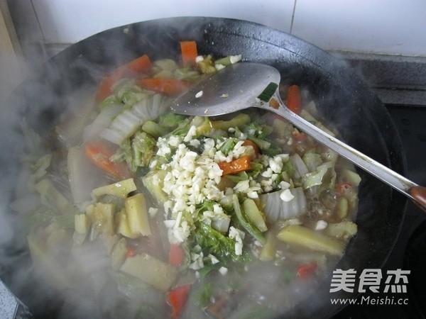 东北酱炖菜的制作