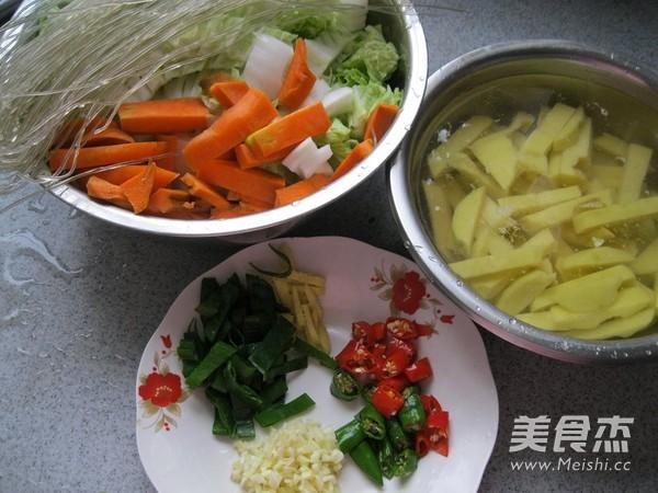 东北酱炖菜的做法图解