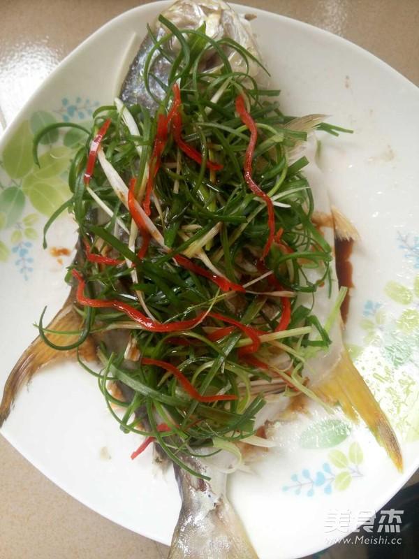 清蒸金鲳鱼怎么炒