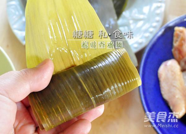 粽叶香鸡翅怎么吃