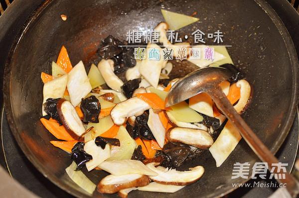 五色杂疏家常豆腐的简单做法