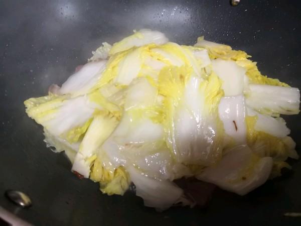 腊肉炒娃娃菜的家常做法