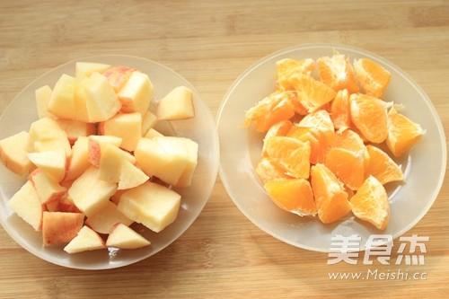苹果橙汁的做法图解