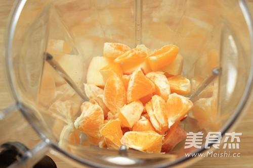 苹果橙汁的简单做法