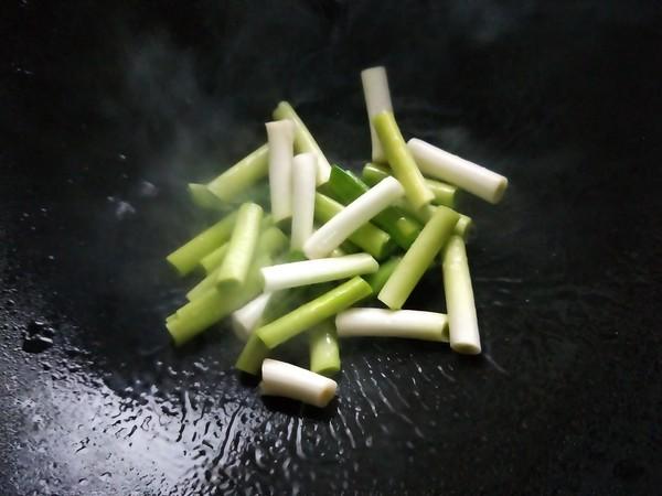 香干笋片炒大蒜苗怎么做