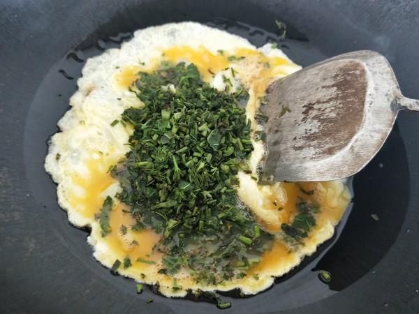 香椿炒鸡蛋怎么煮