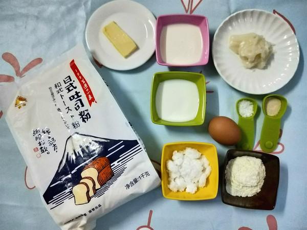 北海道吐司(汤种法)的简单做法
