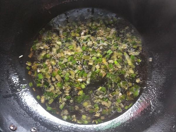 蒜香酸汤面(附扯面做法)怎样炒
