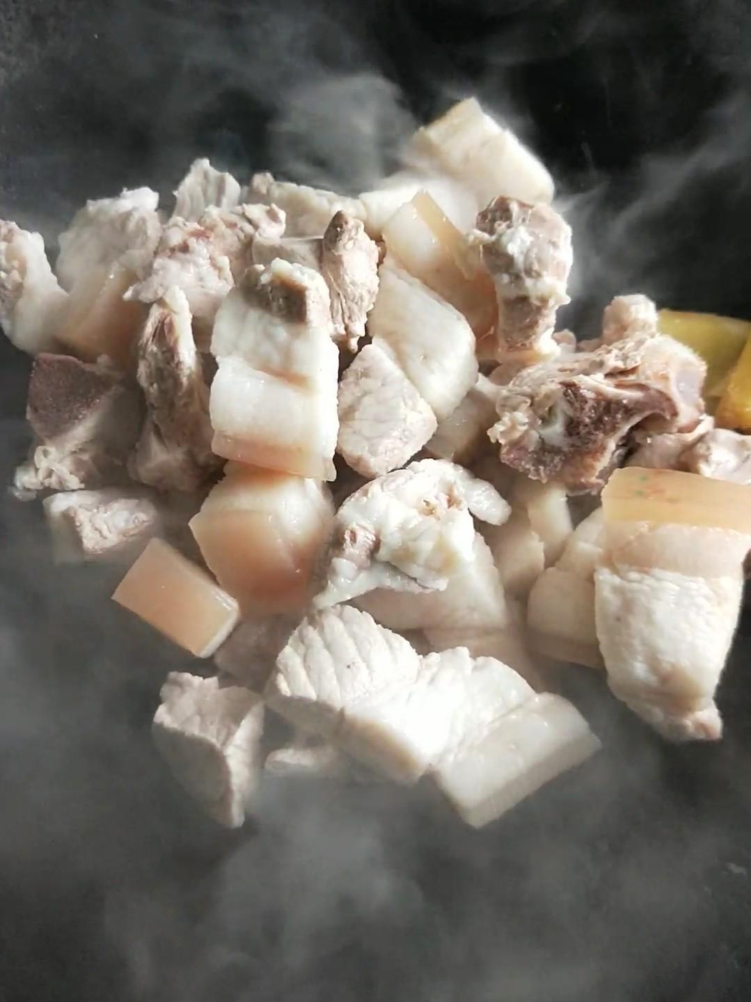 千张结烧肉的做法图解